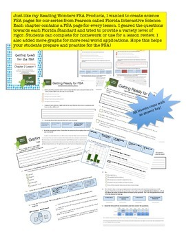 FSA Prep - Florida Science Interactive - Pearson - Third Grade - Chapter 2