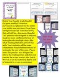 FSA Prep - Entire Year Bundle for Reading Wonders - Fourth Grade
