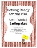 FSA Prep - Fourth Grade - Unit 1 Week 3 - Earthquakes