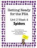 FSA Prep - Fourth Grade - Unit 2 Week 4 - Wonders - Spiders