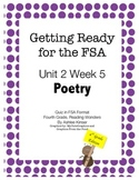 FSA Prep - Fourth Grade - Unit 2 Week 5 - Wonders - Poetry