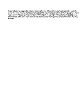 FSA Prep - Unit 5 Week 1 - 3rd Grade - Reading Wonders- Jack takes the Cake