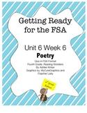 FSA Prep- Unit 6 Week 5 - 4th Grade - Poetry - Reading Wonders