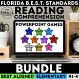 FSA Reading PowerPoint Game Bundle Grades 3-5 (Florida Standards Assessment)