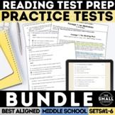 FSA Reading Practice Test Bundle (Florida Standards Assessment)
