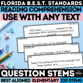 FSA Reading Question Stems Grade 3-5
