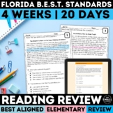 FSA Reading Review Grades 3-5 (Florida Standards Assessment)