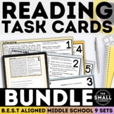 FSA Reading Task Card Bundle (Florida Standards Assessment)