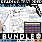 FSA Reading Test Prep Bundle   ELA   High School   Print & Google Forms