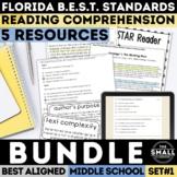 FSA Reading Test Prep Bundle (Florida Standards Assessment)