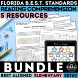 FSA Reading Test Prep Bundle II Grades 3-5 (Florida Standards Assessment)