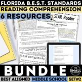 FSA Reading Test Prep Bundle II (Florida Standards Assessment)