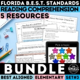 FSA Reading Test Prep Bundle III Grades 3-5 (Florida Standards Assessment)