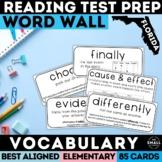 FSA Reading Word Wall: Vocabulary & Question Stems Grades 3-5