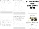 FSA Real World Text Practice BUNDLE