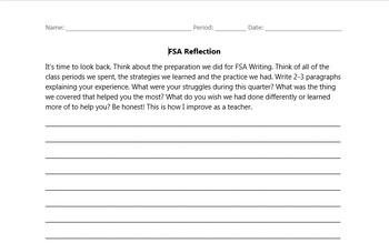FSA Reflection