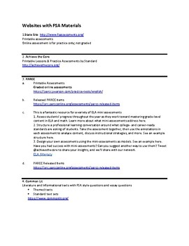 FSA Resources