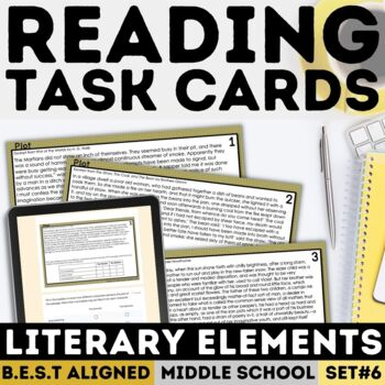 FSA Setting Task Cards (Florida Standards Assessment)