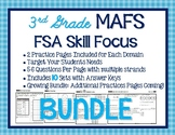 FSA Skill Focus BUNDLE-3rd Grade Math