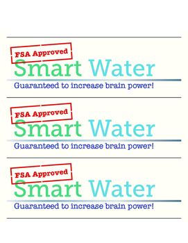 "FSA ""Smart Water"" Label"