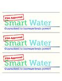 "FSA ""Smart Water"" Label"