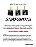 FSA Snapshots - 5th Grade Math FSA Prep and Review Packet