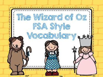 FSA Style Vocabulary