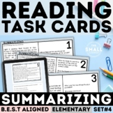 FSA Summarizing Task Cards Grade 3-5 (Florida Standards Assessment)