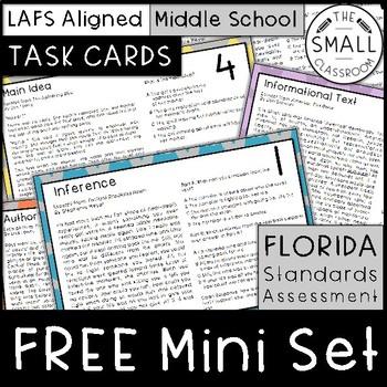 FSA Task Card Mini Set (Florida Standards Assessment)