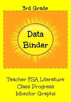 FSA Teacher Class Progress Monitor Graphs (Literature)