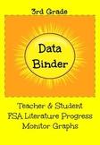 FSA Teacher & Student Progress Monitor Graphs (Literature)