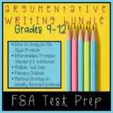 FSA Test Prep! Analyzing Argumentative Prompts and Plannin