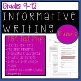 FSA Test Prep Style Informative Writing Bundle for Grades 9-12!