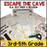 FSA Test Preparation or ELA Practice - Trapped: Escape the Cave