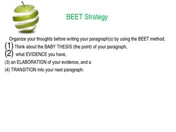 FSA Writes BEET Strategy Powerpoint