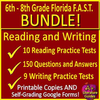 Writing FSA and Reading FSA Test Prep Big Bundle for ELA Language Arts