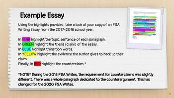 andrell education writing assessment examples