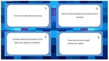 FSA Writing Elaboration Task Cards