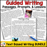 FSA Writing 4th and 5th Grade Guided Text Based Writing Le