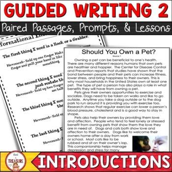 FSA Writing- Introductions Set 2
