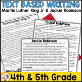 Martin Luther King Jr FSA Writing -January Passages, Writing Prompts, and Rubric