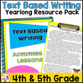 FSA Writing Lessons for Opinion and Informational Writing | YEARLONG Bundle