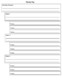 FSA Writing: Outline / Planning Page