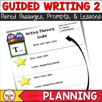 FSA Writing- Planning and Understanding Prompts Set 2