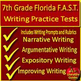 Writing FSA Practice Set Grade 7 Passages w/ Argumentative + Informative Prompt