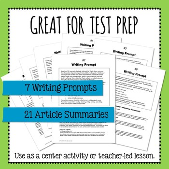 FSA Writing Prompt Quick Practice