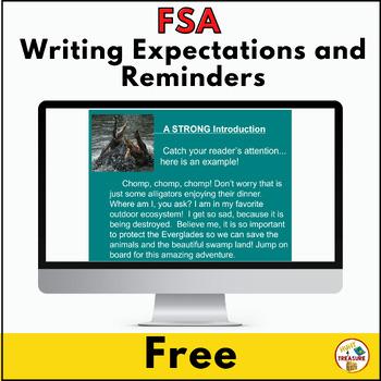 FSA Writing Reminders