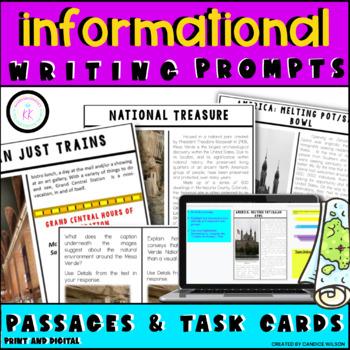 FSA/PARCC Writing: Short Response Task Cards