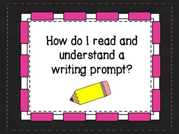 FSA Common Core Writing - Understanding a Prompt Guide