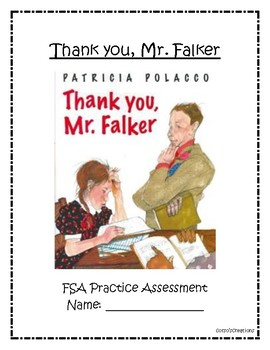 FSA and PARCC Test Prep: Thank you, Mr. Falker
